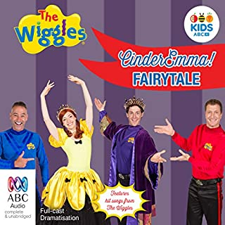 The Wiggles 25th Anniversary Audiobook cover art