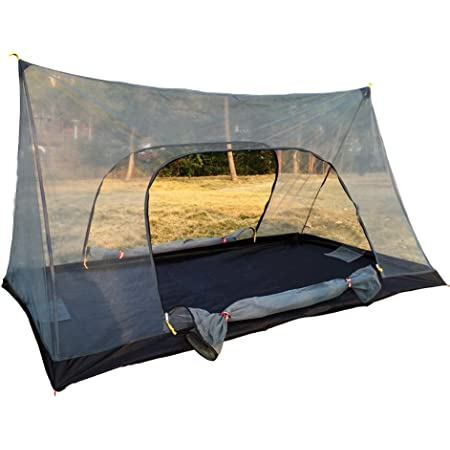 FLYFLYGO モスキートネット (蚊帳) 超軽量携帯式テント キャンピング、キャンプ、アウトドアに