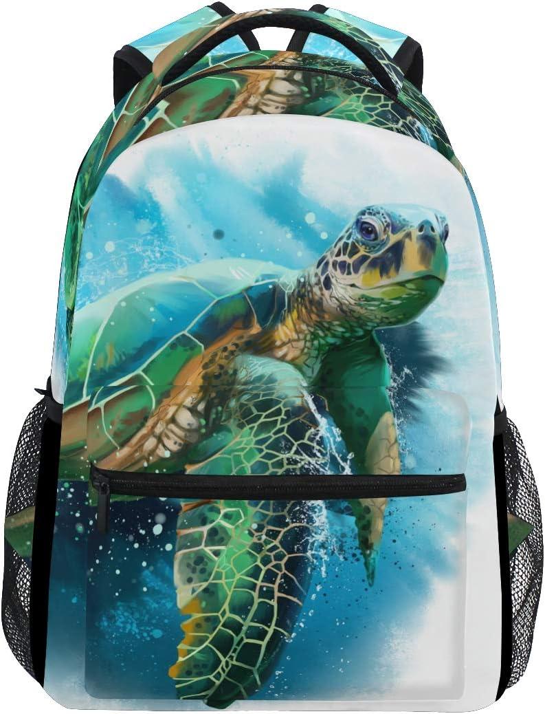 6. Sea Turtle Unisex Backpack