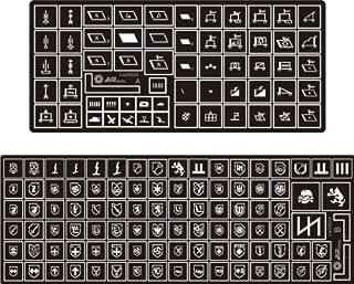 Alliance Model Works 1:35 Stencil German Symbols Waffen-SS Detail Set #LW35020