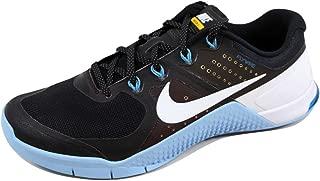 Nike Men's Metcon 2 AMP Black/White-Bluecap-Blue Glow 819902-001 Shoe