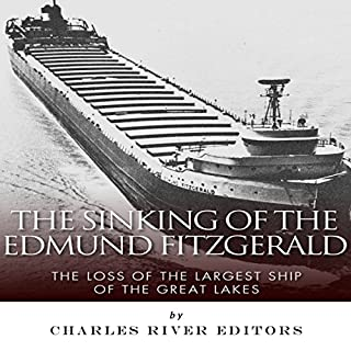 The Sinking of the Edmund Fitzgerald audiobook cover art