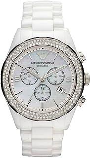 Armani Ceramica AR1456 Ceramic Case White Ceramic Women's Quartz Watch