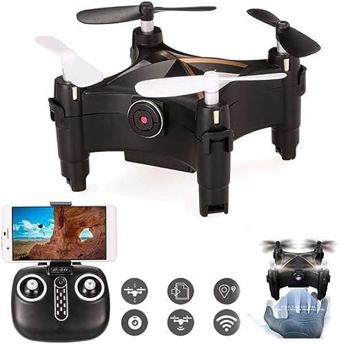 RC Drone FPV 2.4G 6-Achse Gyroskop Optische Anti-Shake Image Follow Wifüreal-time Image Transmission Headless Mode One Key Return, für Kinder & Anf er