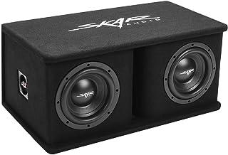 "$189 » Sponsored Ad - Skar Audio Dual 8"" 1400W Loaded SDR Series Vented Subwoofer Enclosure | SDR-2X8D4"