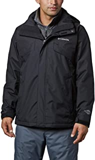 Columbia Men's Bugaboo II Fleece Interchange Winter Jacket, Waterproof & Breathable
