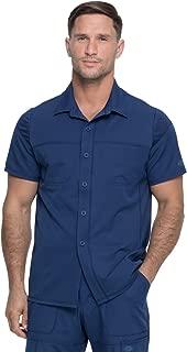 Dynamix DK820 Men's Button Front Collar Shirt