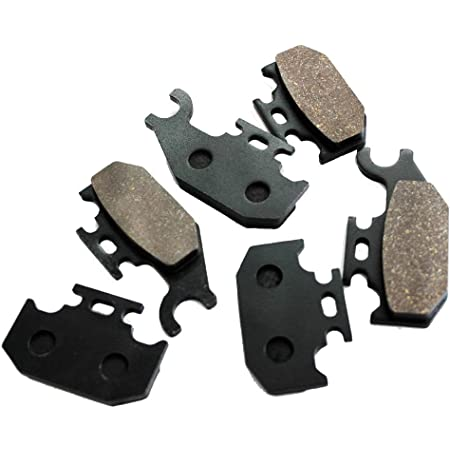 Front and Rear Brake Pads For CAN AM OUTLANDER 650 400 MAX STD XT 4x4 2007-2011