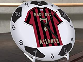 FanPlastic USA Soccer Ball Table Clocks - All M L Soccer Team Colors Available - Classic Soccer Ball Design 7