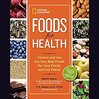 National Geographic Foods for Health audiobook cover art