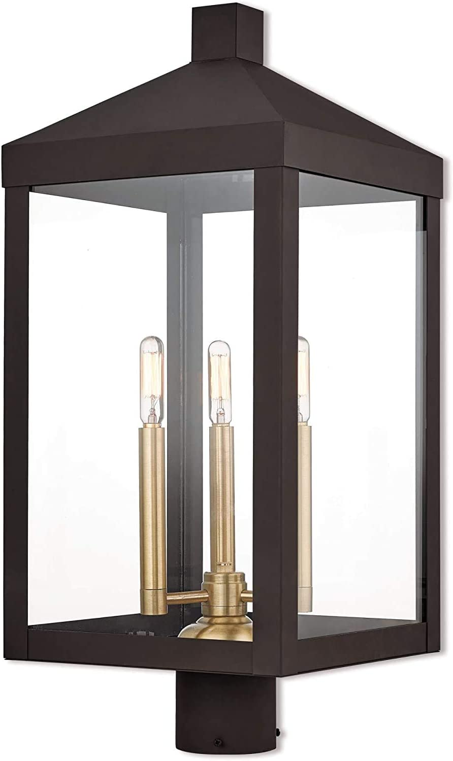 Livex In a popularity Lighting 20586-07 Bronze Lantern Max 47% OFF