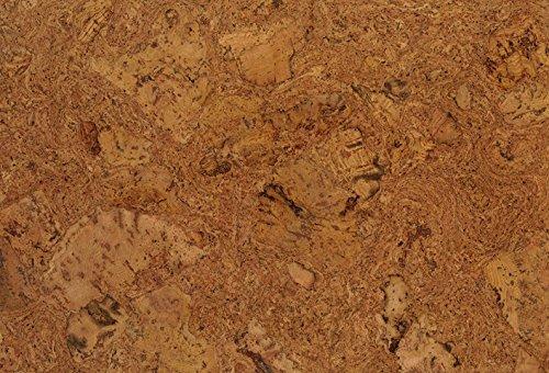 1 Paket (1,95m²) Korkboden zum klicken, Korkboden mit Trittschalldämmung, Korkboden endversiegelt, Korkfertigparkett, Kork-Fußboden, Korkboden verlegefertig, Korkklickboden - Orion natur