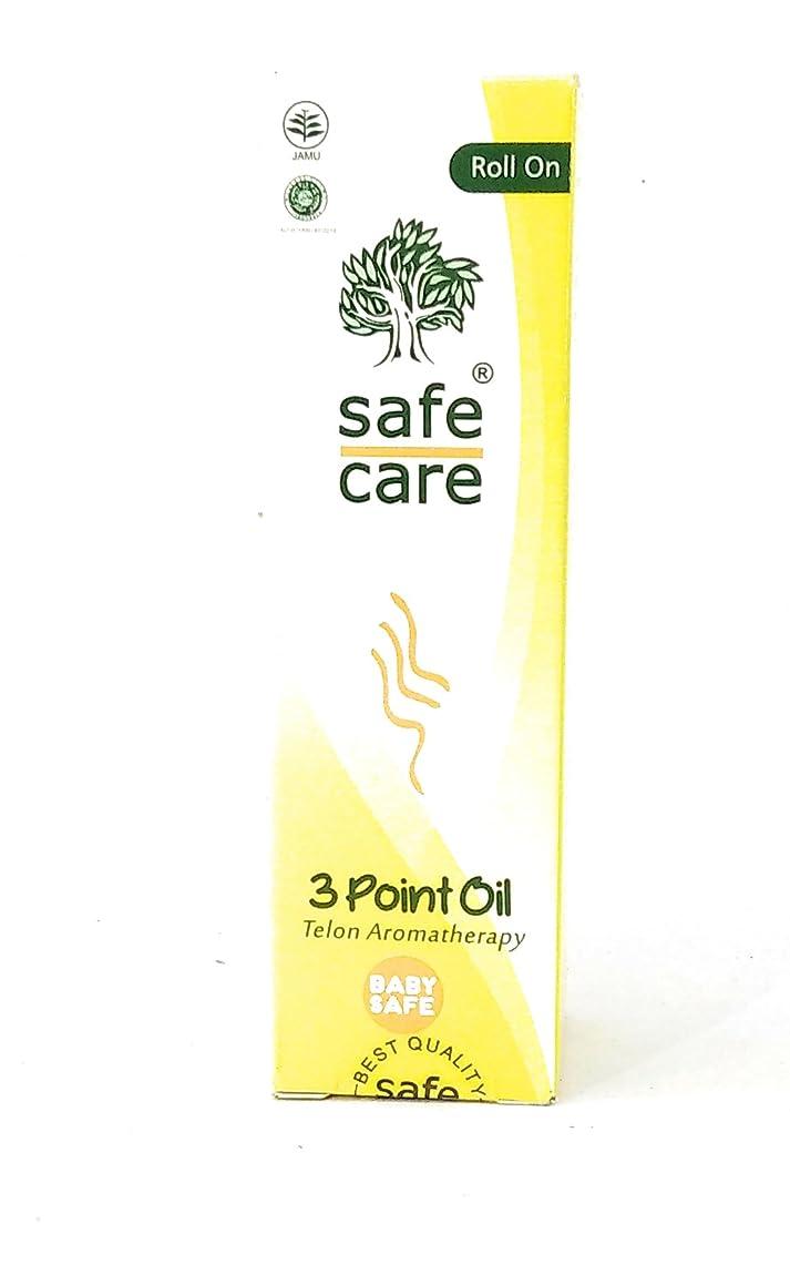 素晴らしい良い多くの散逸する必要があるSafe Care 3点オイル(telonアロマセラピー)、30 ml(3パック)上を転がります