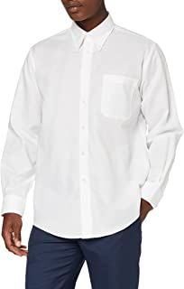 Fruit of the Loom Men's Oxford Long Sleeve Shirt