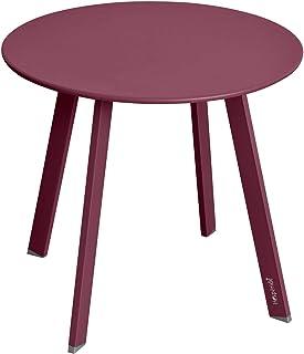 Hespéride Table Basse Saona D 50 cm Bordeaux