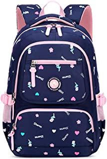 BAG Mochila Infantil Linda lienzo impreso bolso de escuela primaria