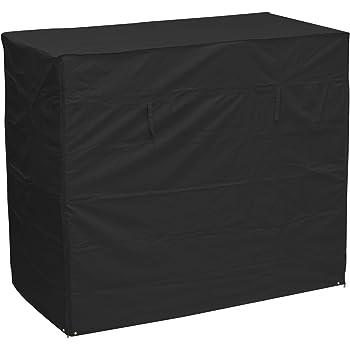 Oxbridge Black 3 Seater Outdoor Garden Swinging Hammock Cover 2 17m X 0 6m 1 25m X 1 7m 7 1ft X 4 1ft X 5 6ft 5 Year Guarantee Amazon Co Uk Garden Outdoors