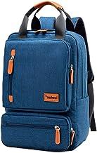 Freizeit-Reiserucksack für Damen und Herren, multifunktional, Laptop-Tasche aus Segeltuch, Marineblau Schwarz - YGBBH-21221
