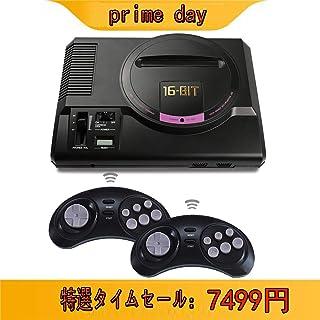 Whatsko ゲーム機 FC クラシック懐かしの家庭用ゲーム機 HDMI出力 AV出力 2.4Gワイヤレスコントロー