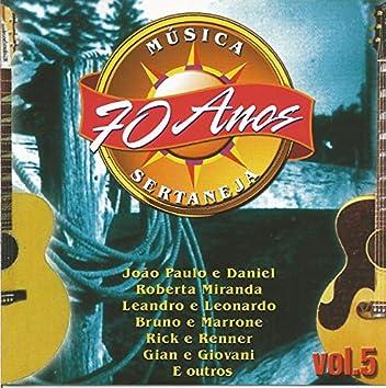 70 Anos da Melhor Música Sertaneja Vol. 05
