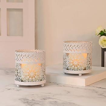 Kerzenständer Hochzeit Blumenvase 11 Stück Dekovase Leuchter Dekoration