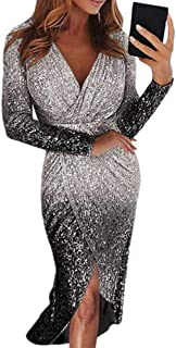 Women Sexy Sequin Party Dress Gold Silver Glitter Club Dress Long Maxi Shine Evening Gown Female Wrapped Ruched Dresses
