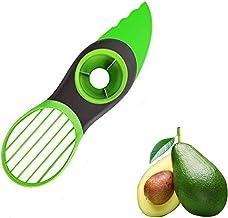 Avocado slicer, 3-in-1 avocado tool for guacamole, Green