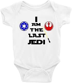 I Am The Last Jedi Star Wars Short Sleeve Unisex Onesie
