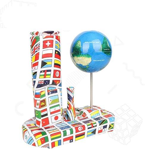 Zgsjbmh  d Globe Crazy Globe Creative Gyroscope Anti-gravité Jouet de décompression d'explosion de Bureau transfrontalier (Couleur   Bleu, Taille   Libre Taille)