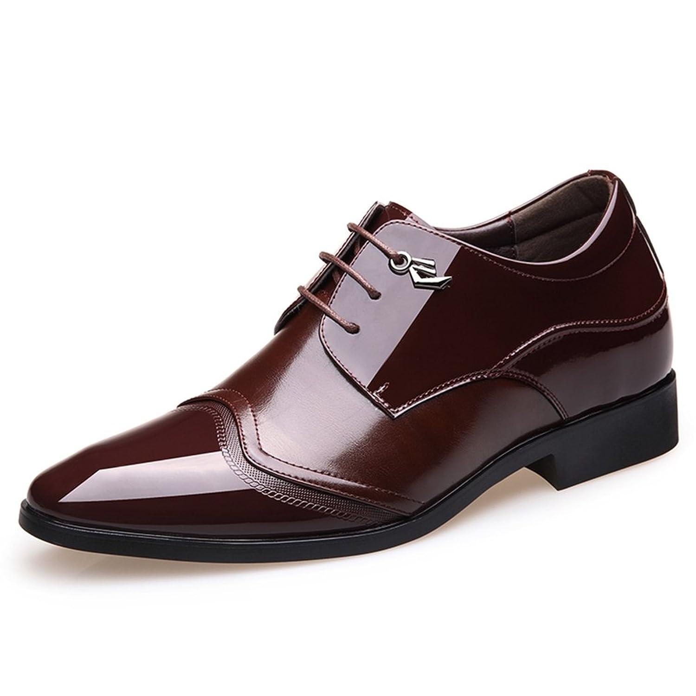 [CY株式会社] シークレットシューズ メンズ 7cm 身長up ビジネスシューズ 紳士靴 フォーマル 耐磨耗 耐滑 オフィス 滑り止め トラベル 通勤