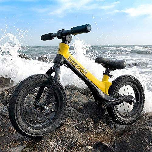 Reeple Toddler Balance Bike for 2,3,4,5,6 Year Old Kids Bike 12-Inch Wheels Beginner Rider Training No-Pedal