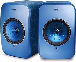 KEF LSX - Altavoz WLAN - Bianco | Altavoces Activos con Bluetooth | Altavoces multiroom | Altavoz WiFi, Airplay 2, Spotify | El Mejor Altavoz inalámbrico