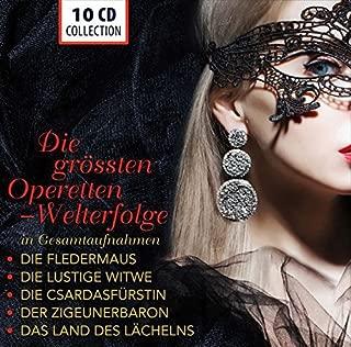 The Greatest Operettas Complete Recordings Die Fledermaus, Die lustige Witwe, Die Csárdásfürstin, Der Zigeunerbaron, Das Land des Lächelns