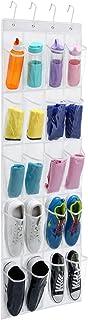 MaidMAX Range Chaussures Gain de Place, Rangement Chaussures sur la Porte, Organiseur de Chaussures à Suspendre, 20 Compar...