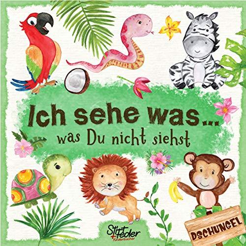 Ich sehe was, was Du nicht siehst: Ein liebevoll gestaltetes Such-Buch für Kinder ab 2 Jahren