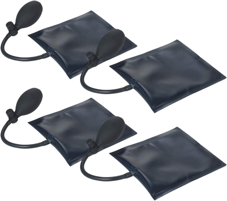 2 Paquetes La Herramienta de Alineaci/ón de Bolsas de Cu/ña de Aire KKmoon Tiene 1 Paquete 4 Paquetes,Pr/áctica y Conveniente 3 Paquetes