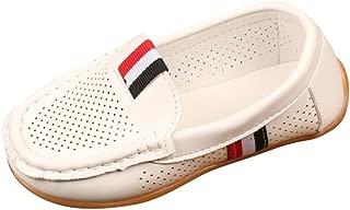 Shusuen Toddler Little Kid Boys Girls Soft Slip On Loafers Dress Flat Shoes