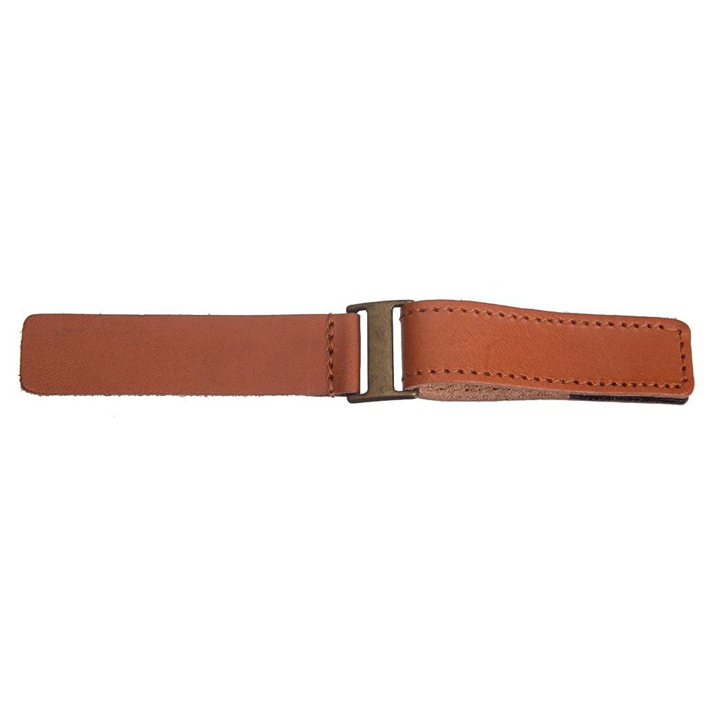 Sew On Genuine Leather Tab Closure - 3/4