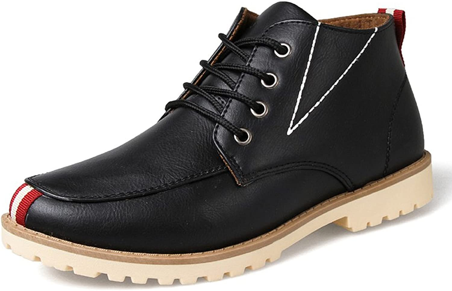 Wevans Cool Leather Chukka Boots for Men