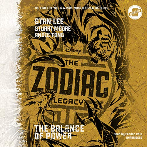 The Zodiac Legacy: Balance of Power audiobook cover art