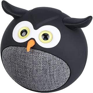 Mini Owl True Wireless Stereo Speaker, Hedwig Black