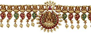 Anuradha Art Gold Finish Studded Ruby Stone   Temple Jewellery,South Indian Kamar-Patta  Belly Chain for Women