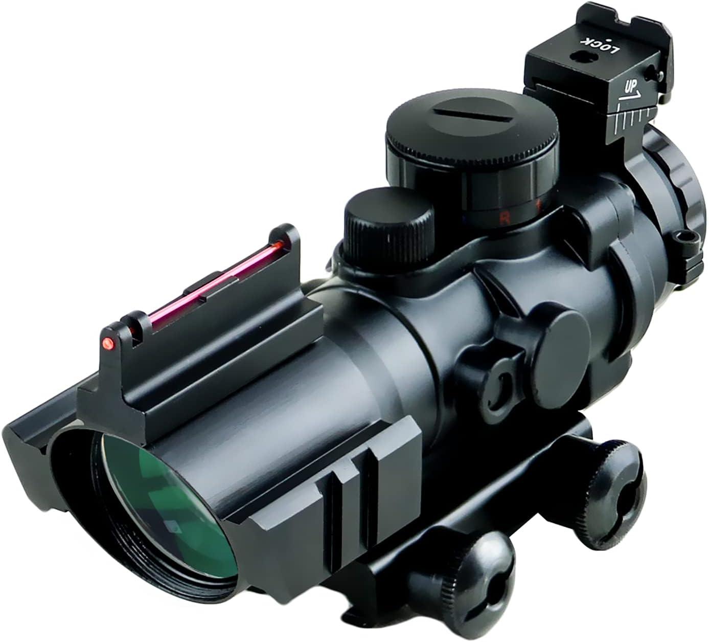 Mirino Ottico con obiettivo da 32mm e zoom 4x