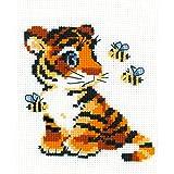 Riolis Kreuzstich-Set Tiger