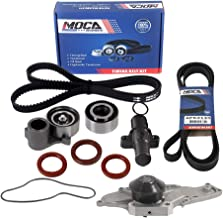 MOCA Timing Belt Kit with Water Pump & Serpentine Belt for 05-09 Honda Odyssey & 05-08 Acura RL & 04-08 Acura TL & 03-06 Acura MDX 3.2L 3.5L J35A