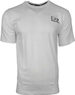 a7249b27dd879 EA7 Emporio Armani Men s Crew T Shirt. Short Sleeve Rubberised Logo