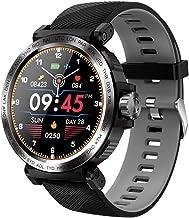 JSREO Smart Watch,S18 Full Screen-Touch Heart Rate-Monitor Smart Sports Smartwatches IP68 Professional Waterproof Bracelet Women Men Sports Smart Wrist Watch
