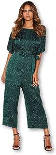 AX Paris Women's Polka Dot Culotte Jumpsuit