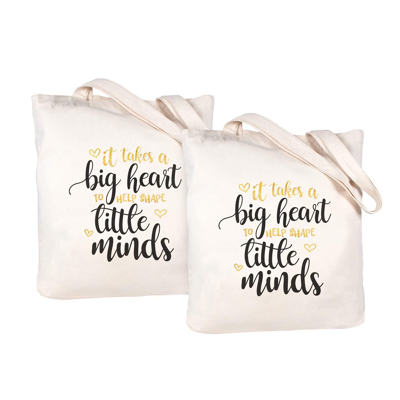 Caraknots Teacher Appreciation Gift Seasonal Wrap Introduction New Free Shipping Tea Canvas Gifts Bag