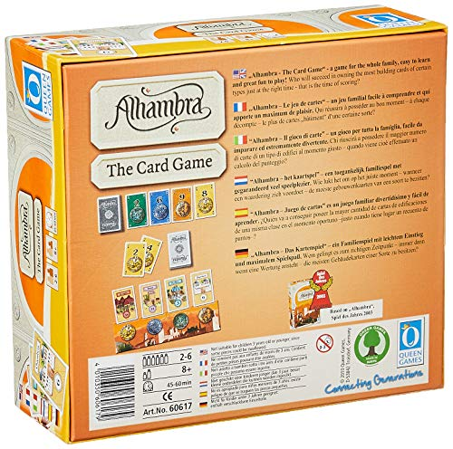 Queen Games - Juego de Cartas (versión en inglés): Amazon.es ...